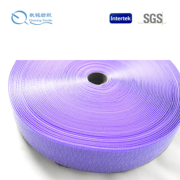 Hot Sale Color Customized Nylon/Polyester/Mixed Back to Back Velcro for Wires & Cables