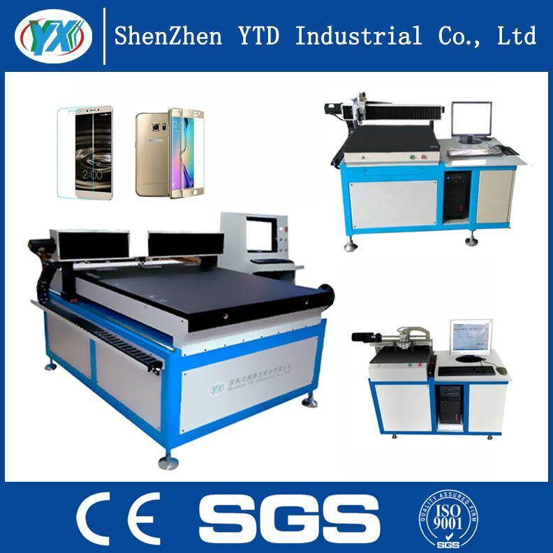 High-Efficiency CNC Shaped Glass Cutting Machine with Low Price