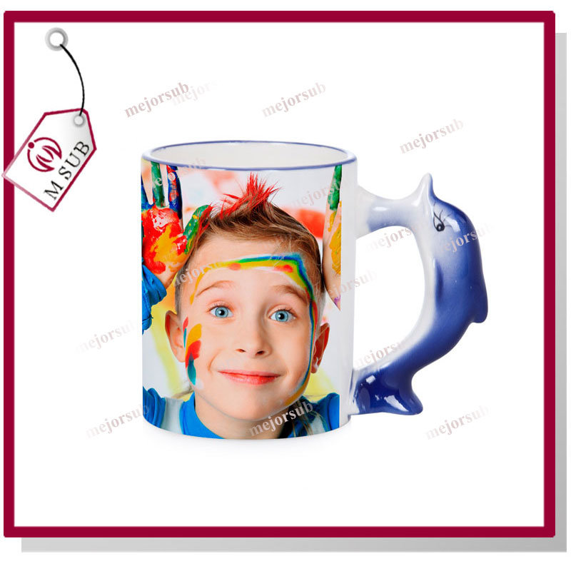 11oz Sublimation 3D Animal Mug with Special Handle