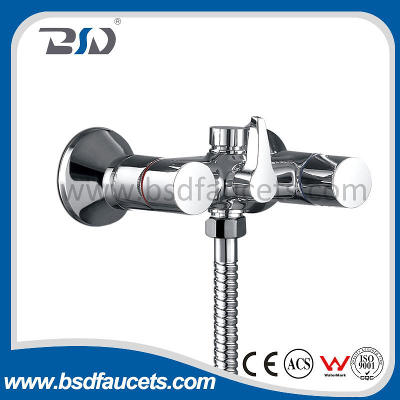 Brass Handle Brass Body Heavy Bath Shower Faucet Mixer