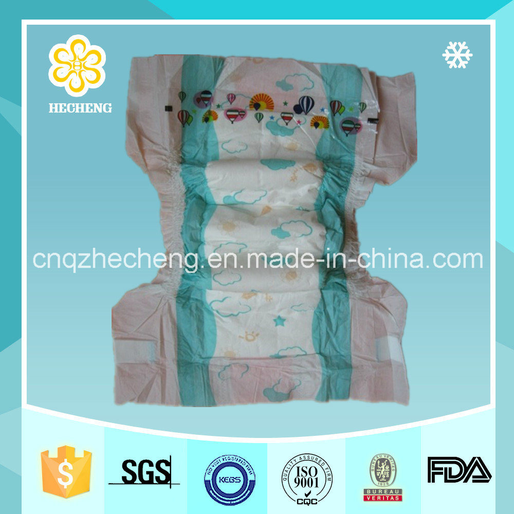 Super Absorption Disposable Diapers Baby Manufacturer
