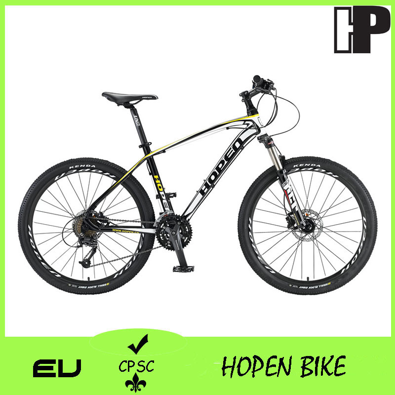 "26"" 27sp Popular Alloy Mountain Bicyle, White, Black+ Red, Hot Sales, Mountain Bike"