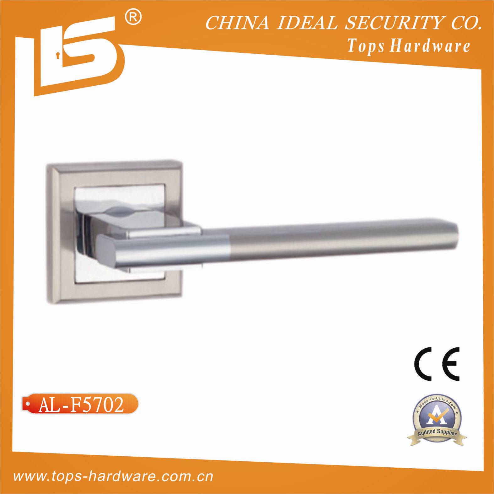 Door Handle on Rose High Quality (AL-F5701)