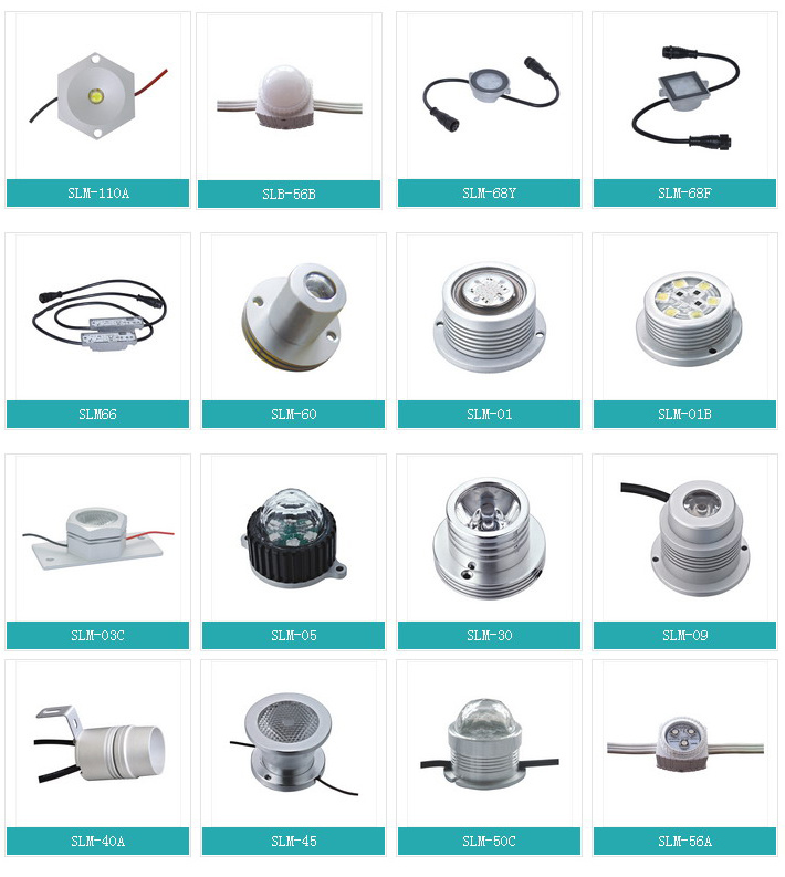 Low Power Self-Flashing LED DOT Light Source Made in China LED Module