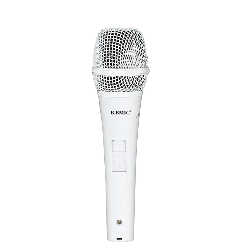 Home Karaoke Good Sound Quality Condenser Microphone with Wire for Computer Karaoke and Recording