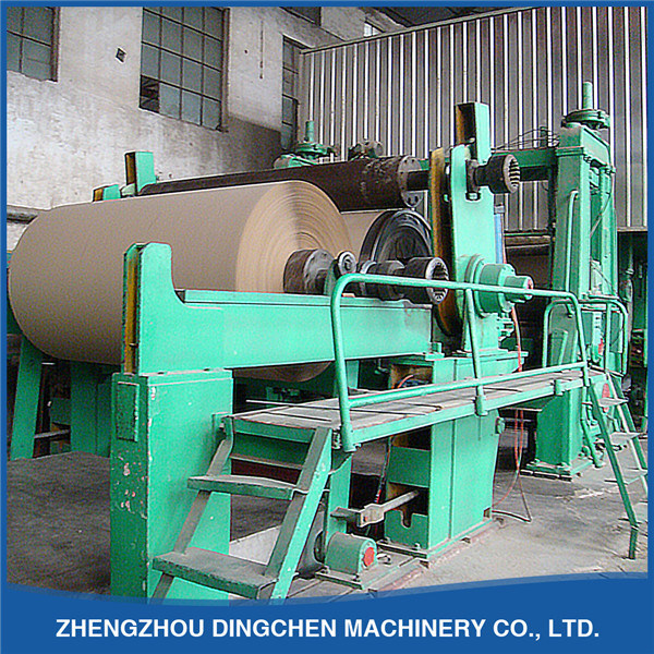 DC-2880mm High Strength Fluting Paper Making Machine