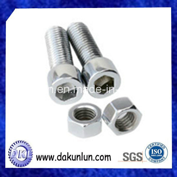 Custom Stainless Steel Metal Stud and Nut Fasteners