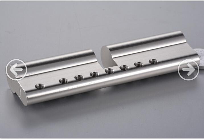Customized Aluminium Extrusion with CNC Machining & Golden Anodizing