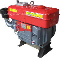 Jdde Brand New Diesle Engine Good Supplyer Yancheng China Power Diesel Engine with 14HP S195 Water Cooled Diesel Engine