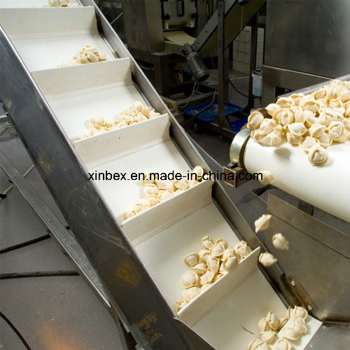 White PU Cleats Food Industry/Industrial Endless Inclined Conveyor Belt