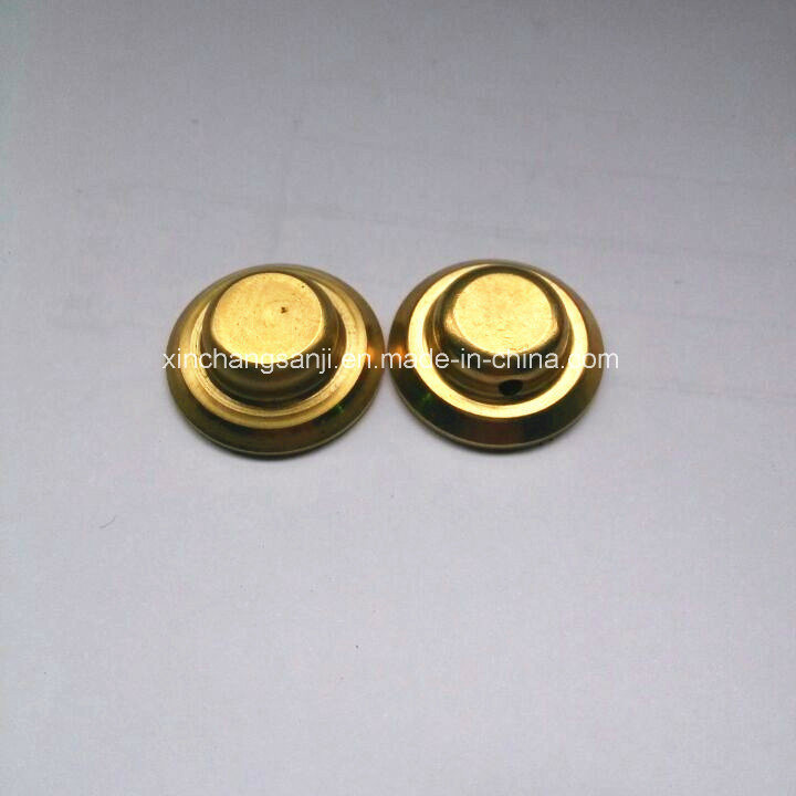 OEM Brass Stamping End Cap for Four-Way Valve