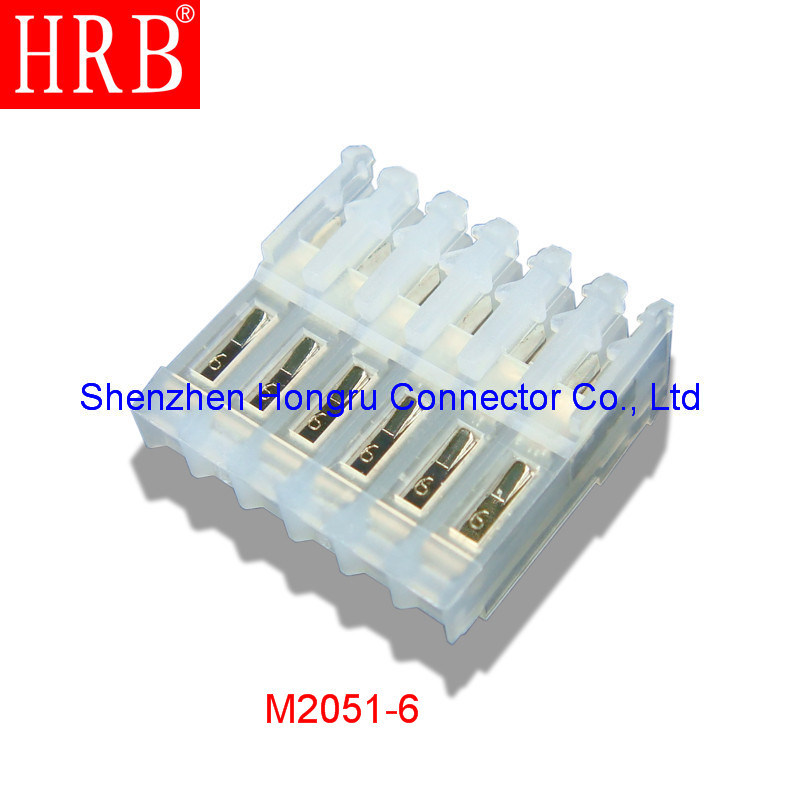2.54 Pitch Natural Nylon Material IDC Connector with Covers