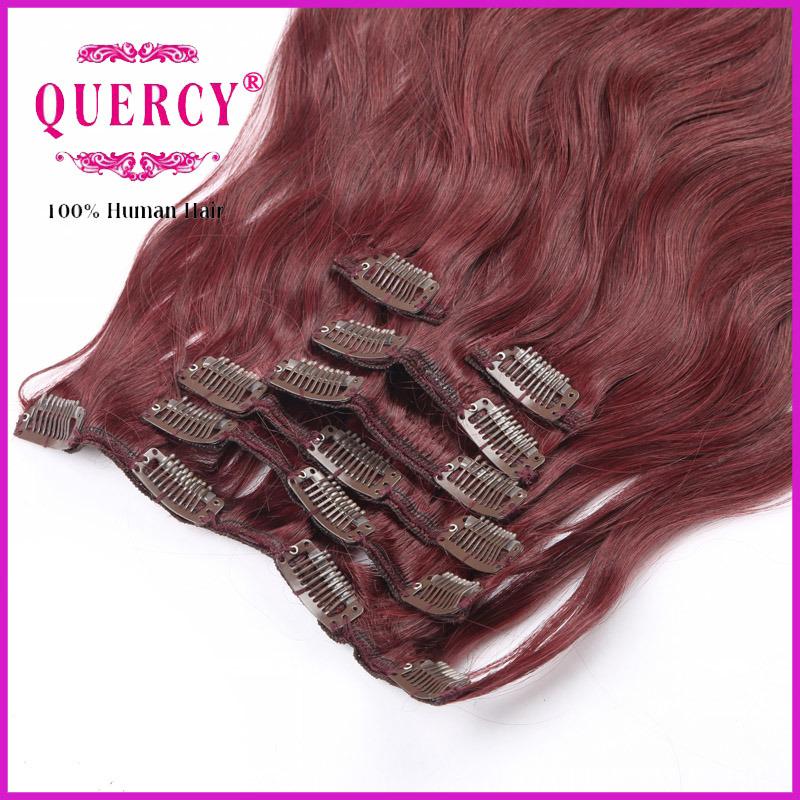 100% Human Hair Remy Clips Hair