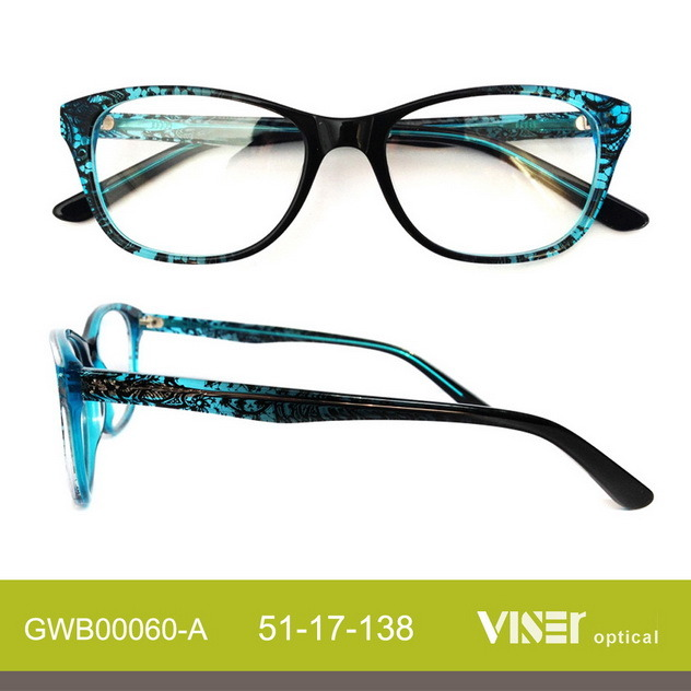 Fashion Acetate Optical Frame Glasses Eyeglasses Spectacles