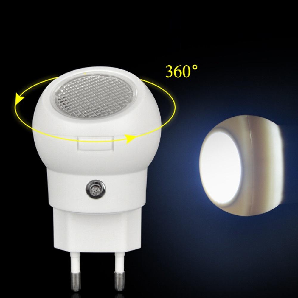 360 Degree Rotating LED Night Light Sensor Control Smart Lighting