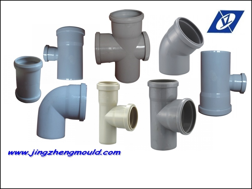 Plastic Injection Collapsible Fitting 110*75mm Tee Mould