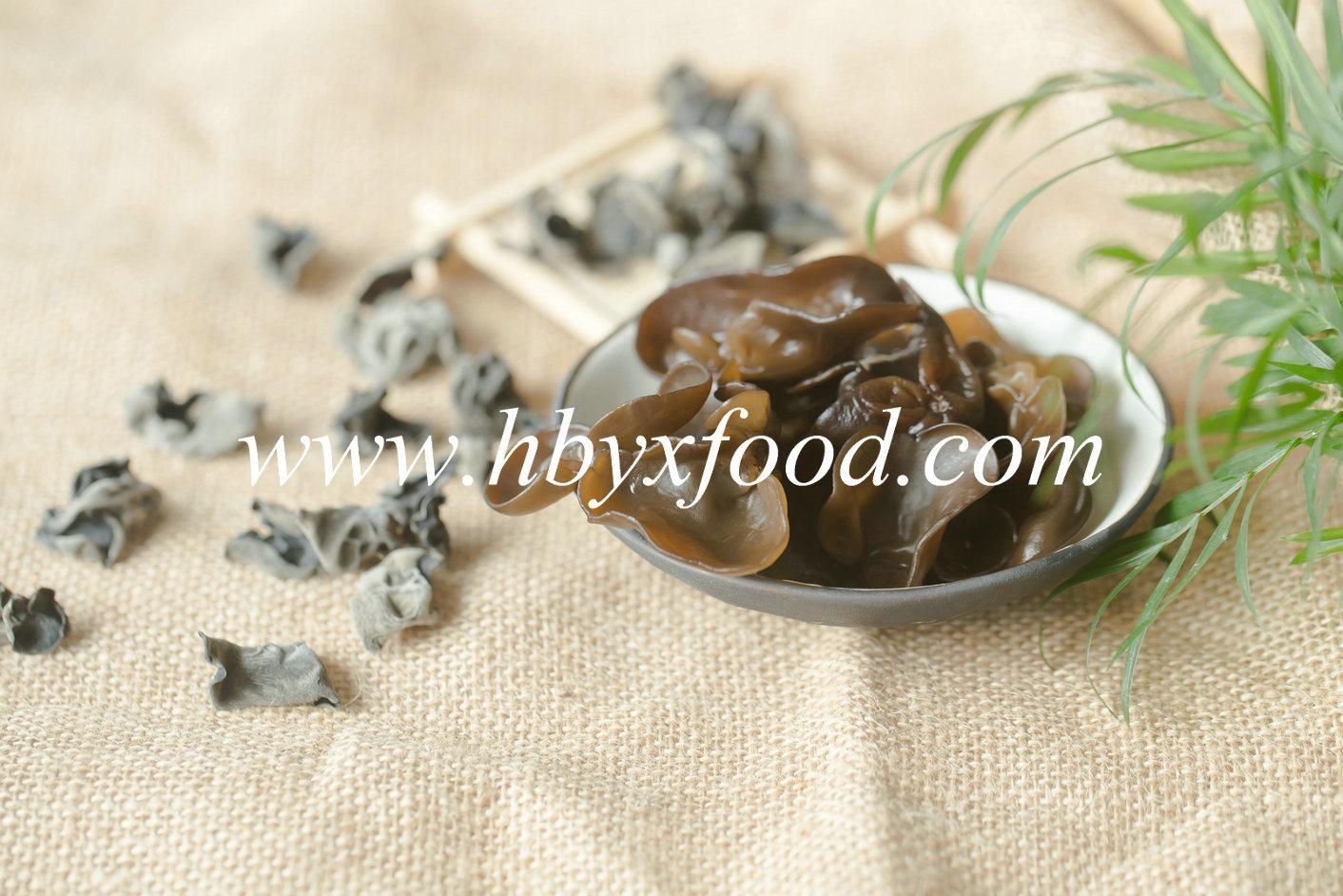 Dried Black Fungus Dehydrated Vegetables in 3kg Pack