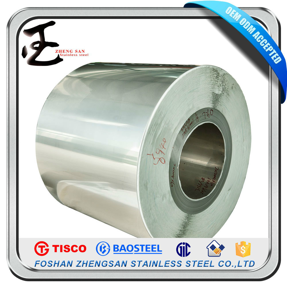 304 Grade Stainless Steel Coil