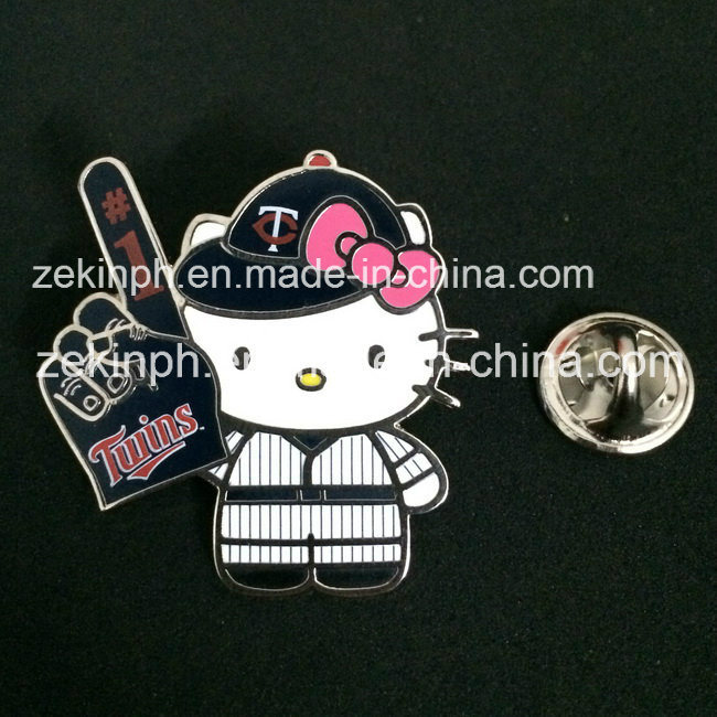 Customized Cute Metal Pin Badge for Promotion
