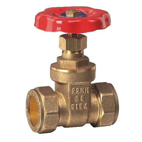 (HE-3005) Gate Valve with Steel Handle for Water