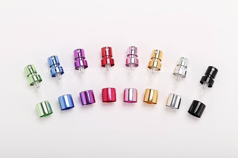 PP-16.3 Glass Perfume Bottle Pump Aluminum 16.3 Ultra-Low Low Pump