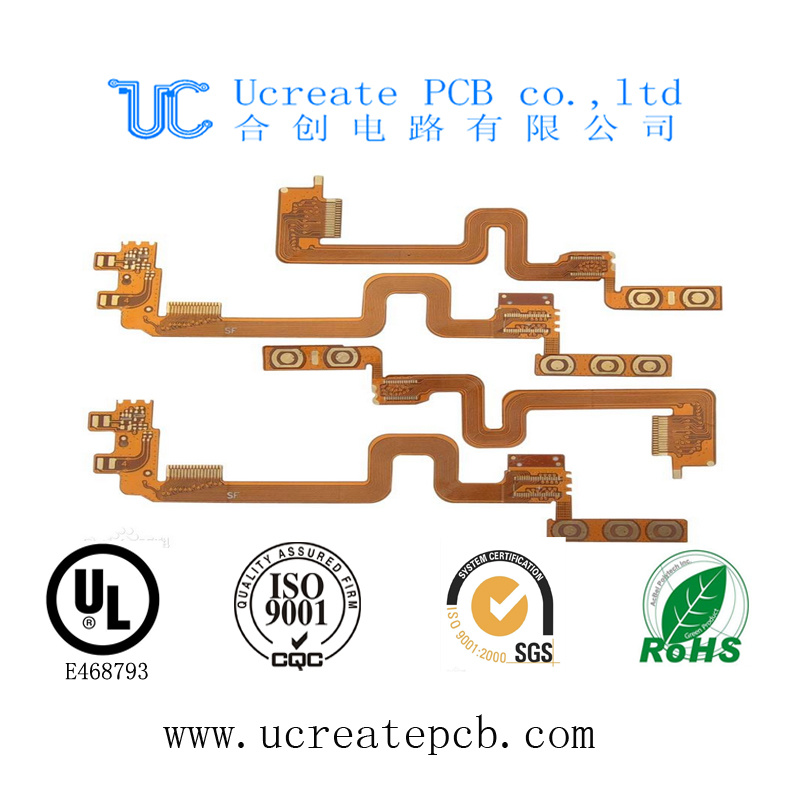 Flex Printed Circuit Board for SMT with High Quality
