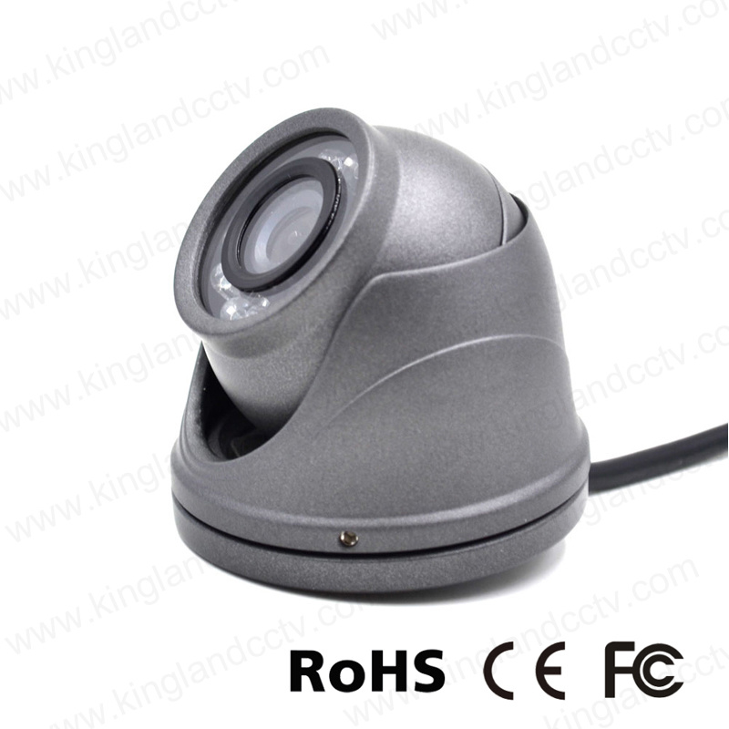 Vandalproof Aluminum Mini Dome Camera for Vehicle
