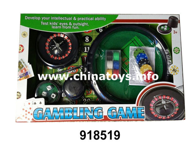 Gambling Set Toy, Promotional Toy (918519)