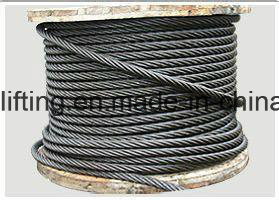 High Quality Steel Wire Rope 6*37 From China