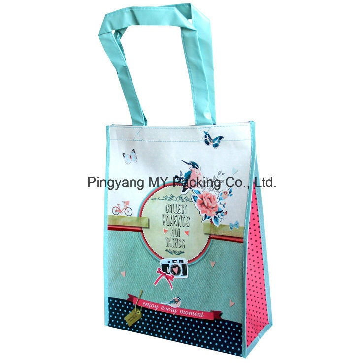Cmyk Colorful Print Laminated Non Woven Promotion Bag