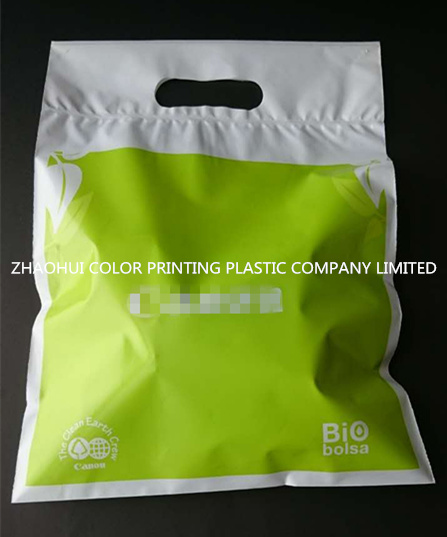 Plastic Die Cut Promotional Bag for Shopping