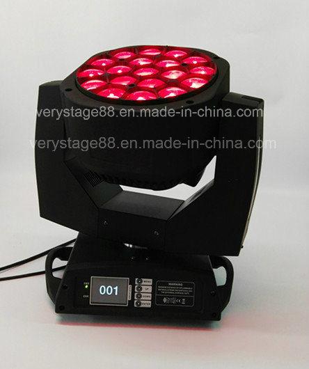 Big Bee Eye 19*15W Zoom LED Beam Moving Head Light