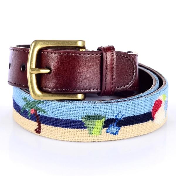 Nobel Product 100%Wool Needlpoint Belt (RS-150914)