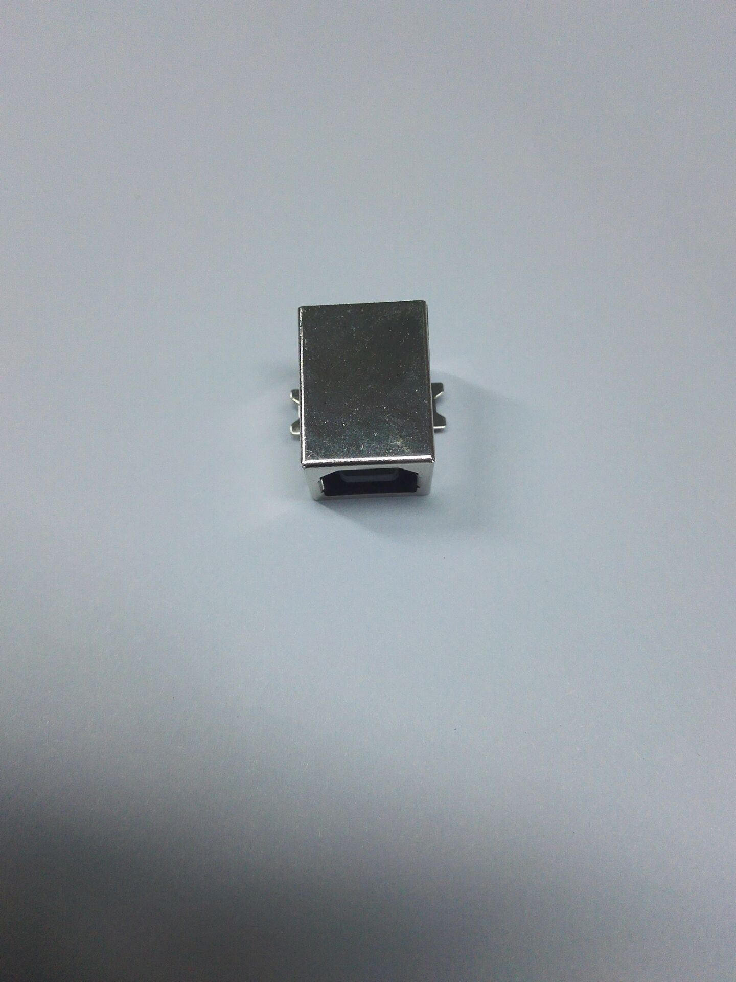 USB B Female Connector, SMT Version, LCP Material 4p