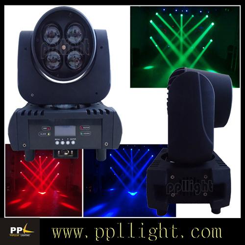 4PCS*15W RGBW LED Zoom Beam Moving Head