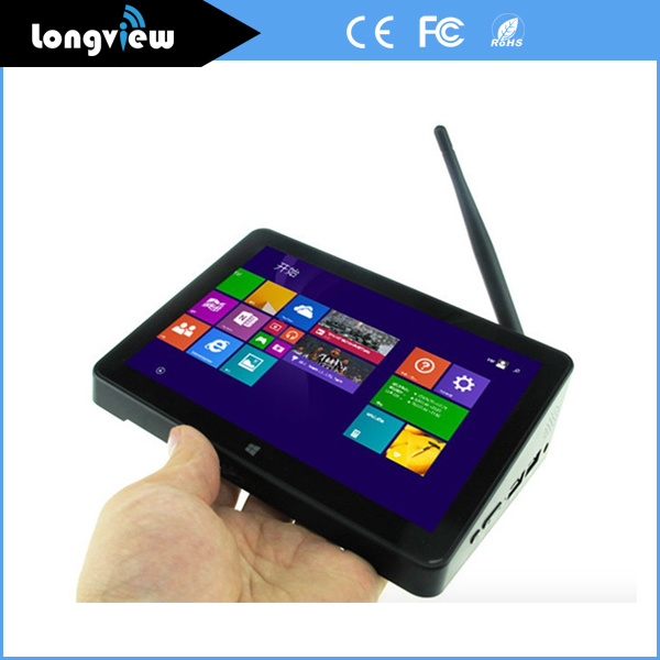 Dual OS Win10 & Android 5.1 TV Box 2GB 32GB Storage Mini PC with IPS Touch Screen