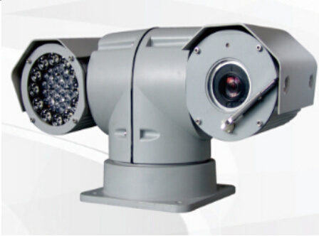 Vehicle-Mounted IR Night Vision Variable Speed PTZ & HD Camera