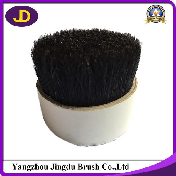 Natural Grey Color Soft Boiled Pig Hair Bristle