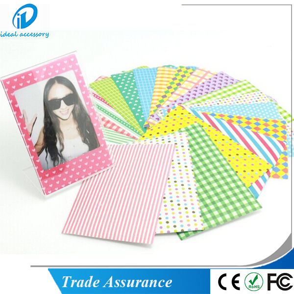 Fujifilm Instax Mini Film DIY Photo Frame Sticker