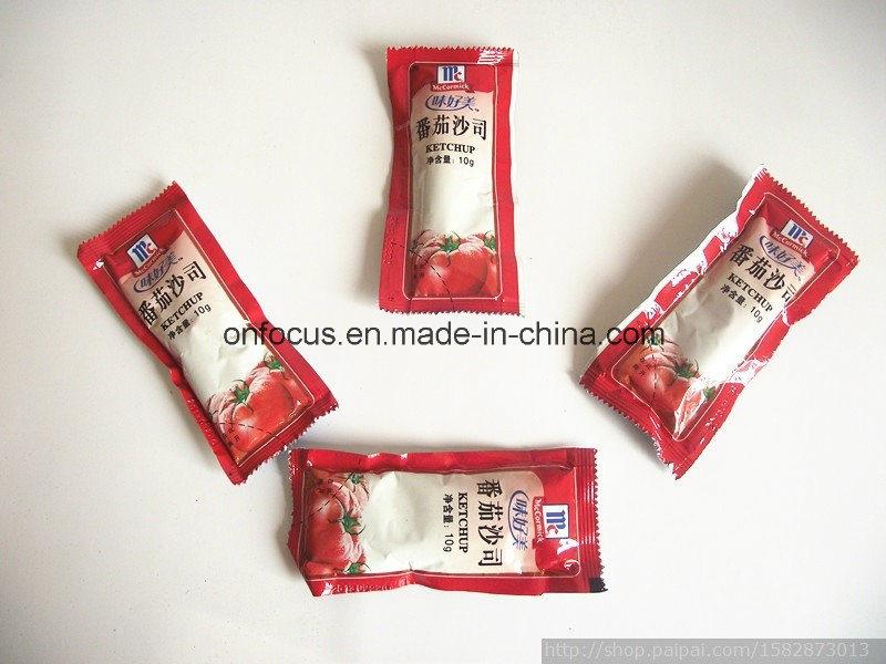 10g Ketchup Sachet Sealing Machine Paste Filling and Packing Machine
