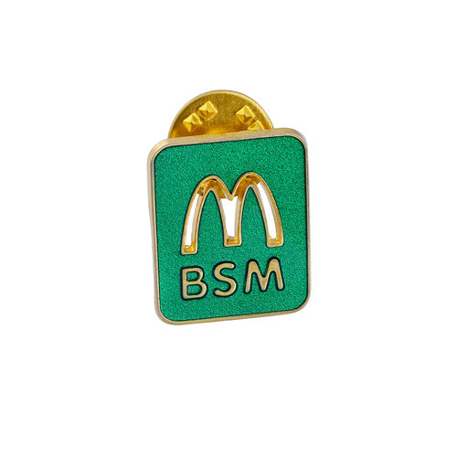 Irregular Promotion Lapel Pin of Gold Plated Personalized Gifts (GZHY-CY-007)
