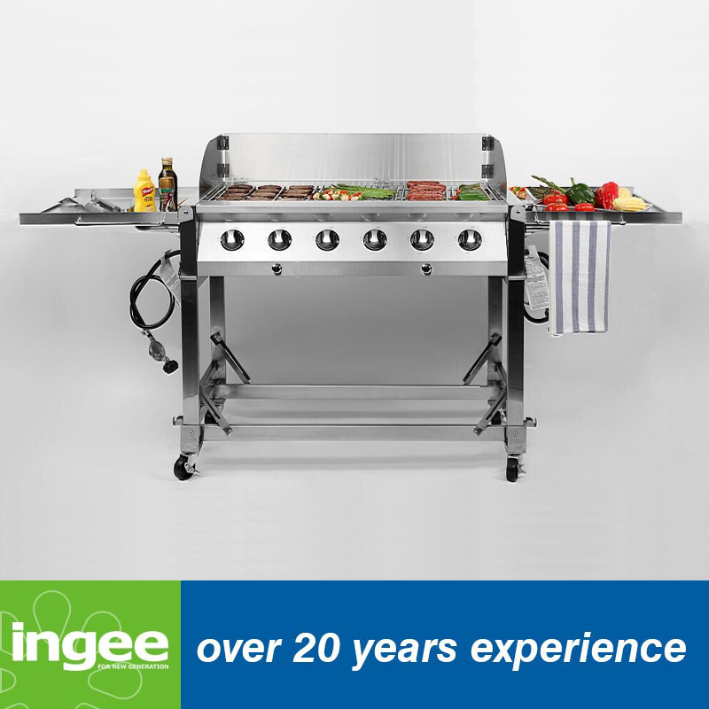 Stainless Steel 6burners Event Grill