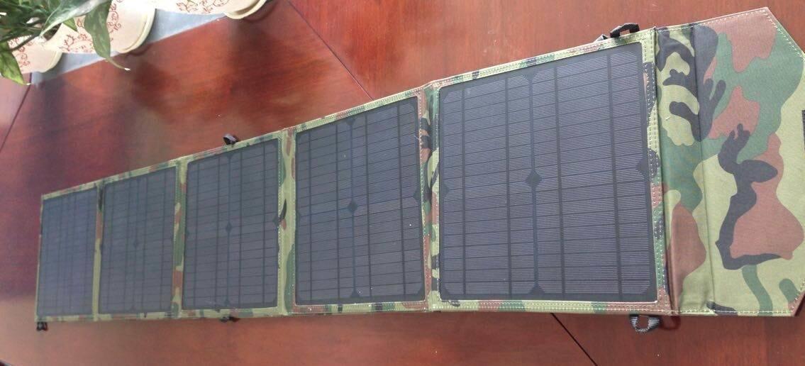 30W Folding Solar Panel Pet Laminated DIY Solar Panel