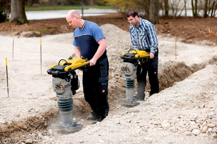 Fast Speed Powerful Tamping Rammer
