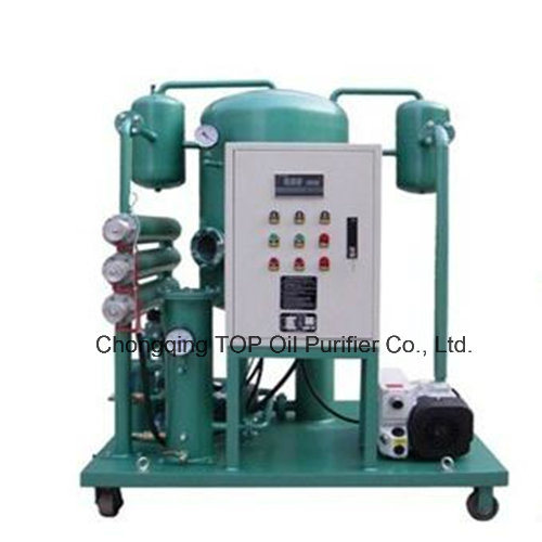 Large Water Content Removal High Vacuum Hydraulic Oil Water Separator