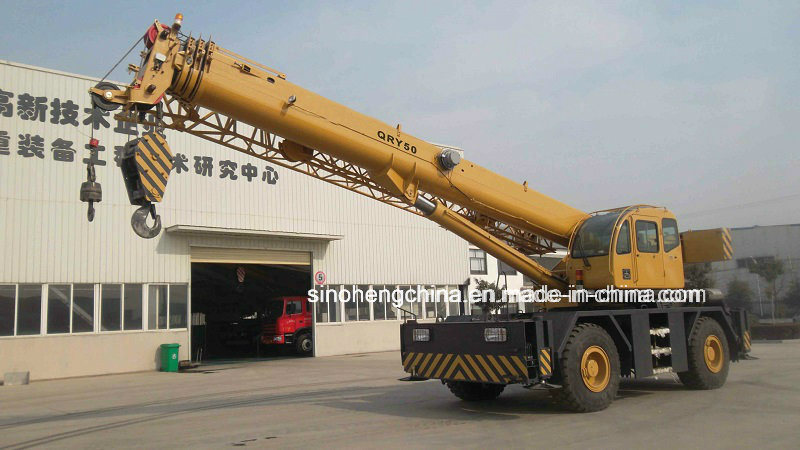 50 Tons New Rough Terrain Crane with Cheap Price Qry50
