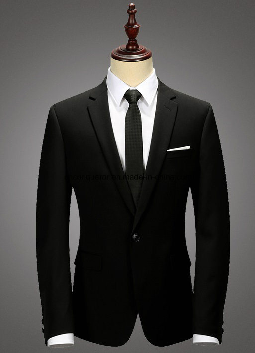 China Black Men Suits Fused, Half Canvas, Full Canvas Suit Photos