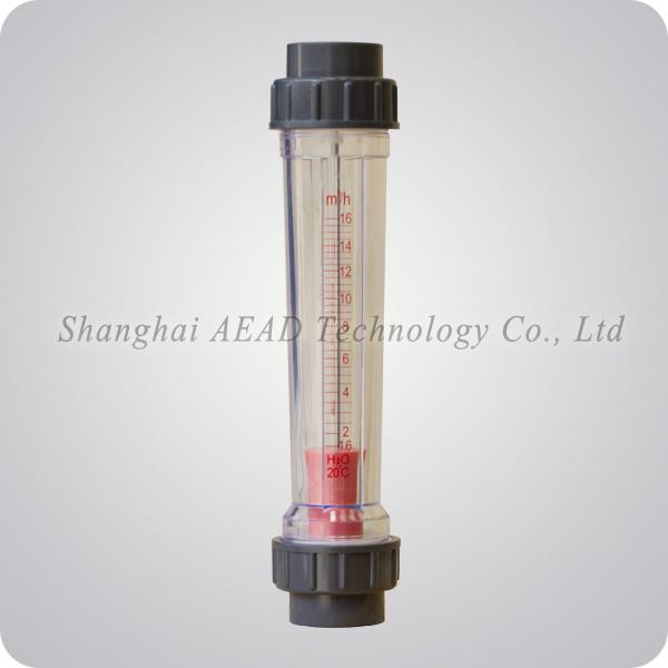 Flange Plastic Flowmeter Liquid Rotameter
