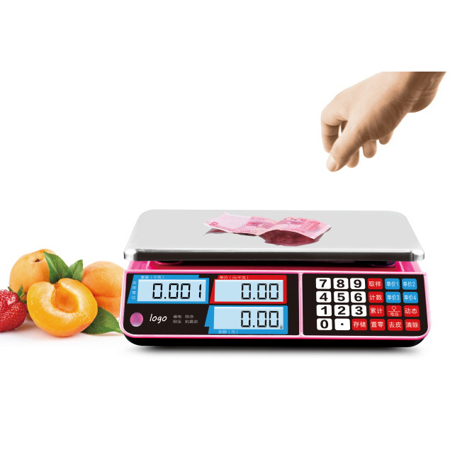 Electronic Digital Weighing Computing Price Scale (DH-586)