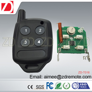 Plastic RF Universal Duplicate Remote Control for Fix Code, Rolling Code